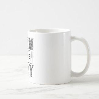 CHEM IS TRY COFFEE MUG