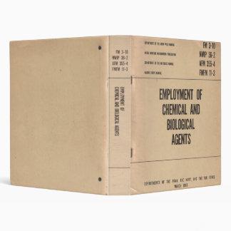 Chemical/Biological Agent Field Manual...Binder! Binders
