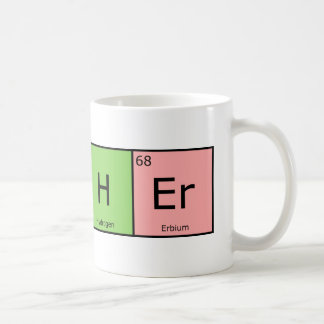 Chemical Elements Teacher Coffee Mug