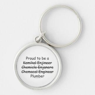 Chemical Engineer Keychain