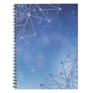 chemical pattern notebook