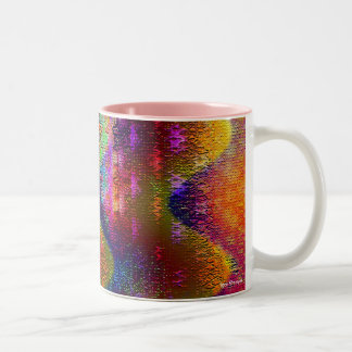 Chemical Reaction II Two-Tone Coffee Mug