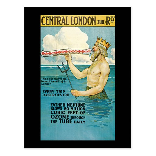 Chemin de fer central de Lloyd Londres Carte Postale