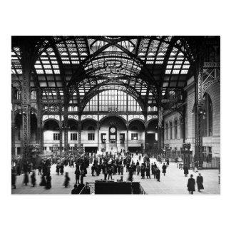 Chemin de fer de cru de New York City de station Carte Postale