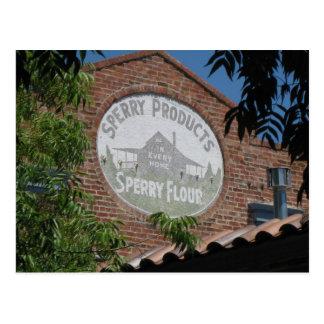 Chemin de fer Santa Rosa carré, CA Carte Postale