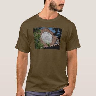 """""""Chemin de fer Santa Rosa carré, CA """" T-shirt"""