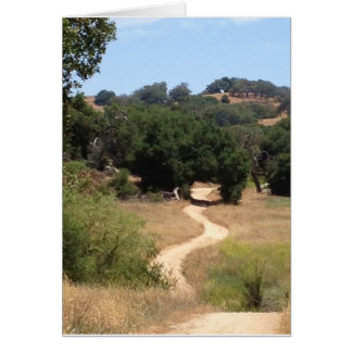 Chemin de Santa Rosa Carte De Vœux