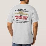 Chemise à mi-temps de coutume d'exposition de tshirt