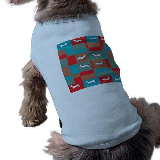 Chemise abstraite de conception de chien tee-shirt pour chien