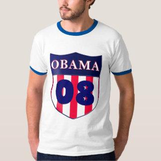 Chemise bleue d'équilibre d'Obama T-shirt