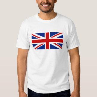 Chemise britannique de drapeau tshirt
