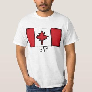 Chemise canadienne de valeur de types tee shirt