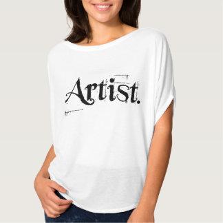 Chemise d'artiste t-shirt