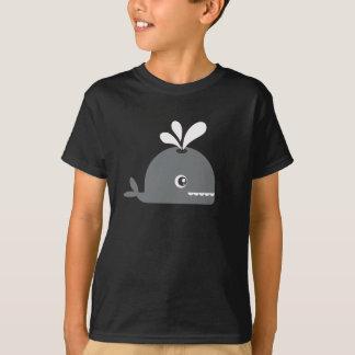 Chemise de baleine de garçons ! tee shirts