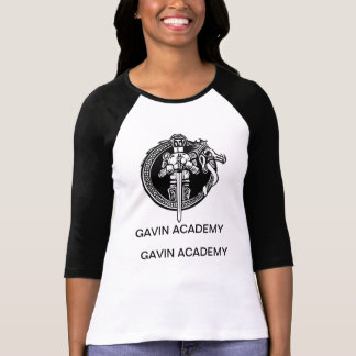 Chemise de base-ball d'académie de Gavin des Tee-shirt