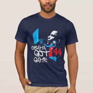 Chemise de basket-ball d'Obama T-shirt