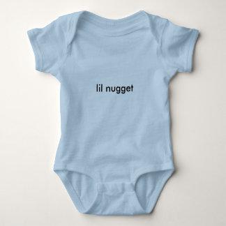 chemise de bébé de pépite de lil t-shirts