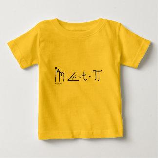 chemise de bébé du cutie pi t-shirt pour bébé