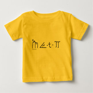 chemise de bébé du cutie pi tee shirt