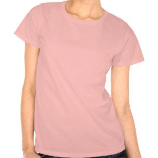 Chemise de bowling de fille du Pin- des femmes de T-shirts