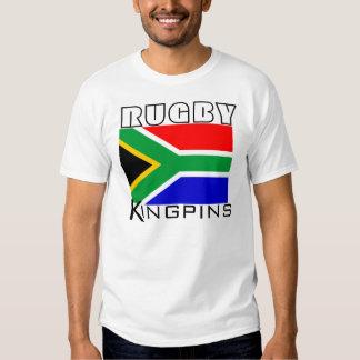 Chemise de chevilles ouvrières de rugby de tee shirt