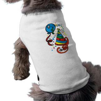 Chemise de chien de garçon d'anniversaire de PawsI Manteau Pour Chien