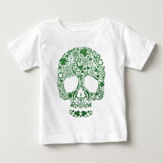 Chemise de conception de crâne de diamètre de los tee shirts