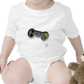 Chemise de contrôleur de jeu vidéo bodies pour bébé