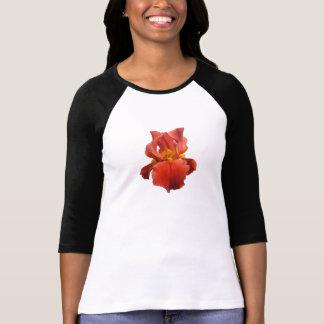 Chemise de corail d'iris tshirt