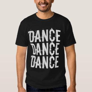 Chemise de danse de danse de danse t-shirts