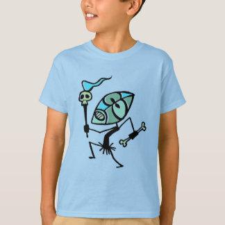 Chemise de danseur de Tiki de torche de crâne par T-shirt