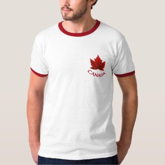 Chemise de feuille d'érable de drapeau du Canada T-shirt