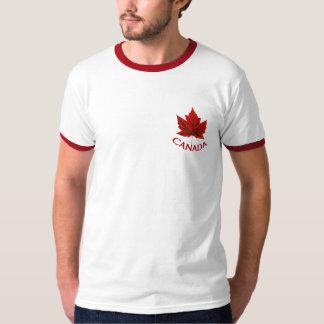 Chemise de feuille d'érable de drapeau du Canada Tee-shirt