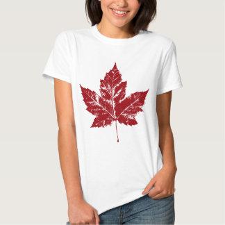 Chemise de feuille d'érable du Canada de T-shirt