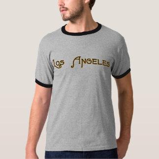 Chemise de logo d'art déco de Los Angeles T-shirt