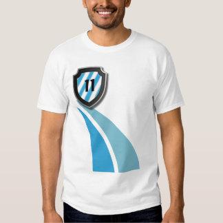 Chemise de passioné du football du football t shirts