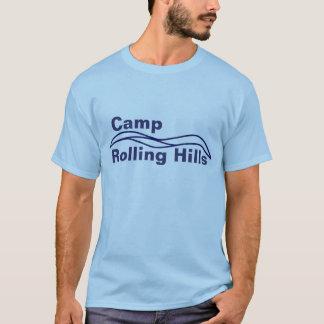 Chemise de Rolling Hills de camp T-shirt