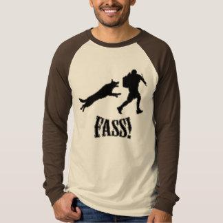 chemise de schutzhund de fass t-shirt