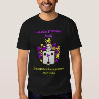 Chemise de société de conservation de sciences t-shirt