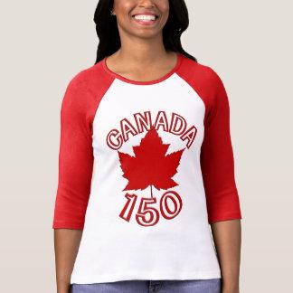 Chemise de souvenir de feuille d'érable du Canada T-shirt