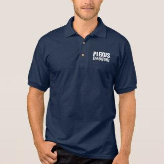 Chemise de style de polo de liberté de plexus