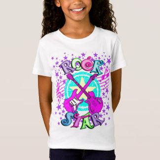 Chemise de vedette du rock de la fille T-Shirt