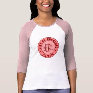 Chemise d'emblème de base-ball de pêche de KRW Tee Shirt