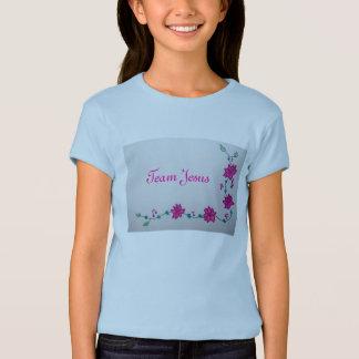 Chemise d'enfant de Jésus d'équipe T-shirt