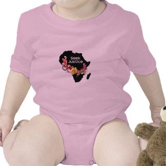 Chemise d'enfant en bas âge de justice de bodies