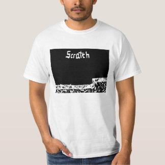 Chemise d'éraflure t-shirt