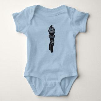 Chemise douce de bébé de justice body