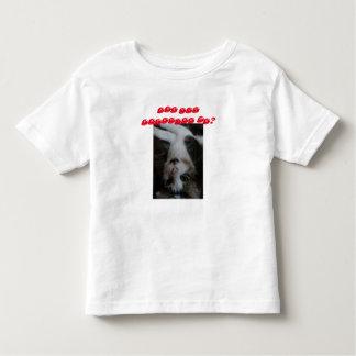 Chemise drôle de chat d'enfant en bas âge (texte t-shirt pour les tous petits