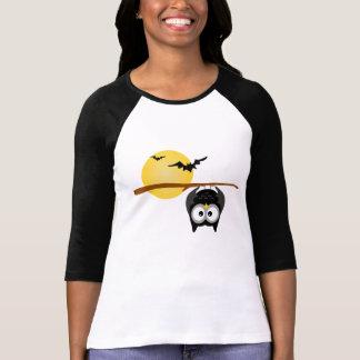 Chemise faite sur commande de vacances de hibou de t-shirt