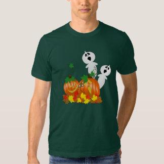 Chemise fantomatique de correction de citrouille tshirts